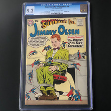 SUPERMAN'S PAL JIMMY OLSEN #48 (1960) 💥 CGC 9.2 💥 ONLY 4 HIGHER! TINY SUPERMEN