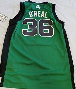 """New NBA Boston Celtics  """"O'NEAL"""" Stitch Jersey Youth S"""