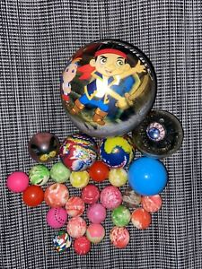 Disney Jake and the Neverland Pirates Bouncy Ball Lot