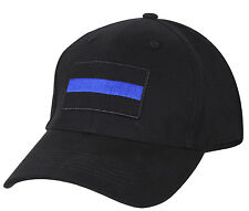 police hat baseball cap ballcap law enforcement thin blue line rothco 99886