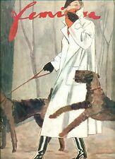 FEMINA. Fevrier 1934. Editions Pierre Lafitte. Belle pagine pubblicitarie