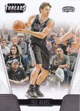 2016-17 Panini Threads Baloncesto Cartas Coleccionables #81 Pau Gasol
