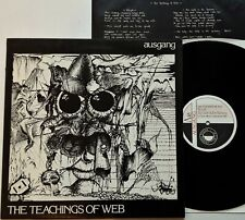 "Ausgang - The Teachings Of Web 12"" EP 1984 1st UK Press Criminal Damage Vinyl EX"