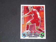 FREIS FUSSBALL 1.FC KÖLN TOPPS MATCH ATTAX PANINI FOOTBALL BUNDESLIGA 2010-2011