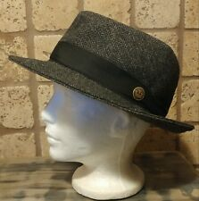 Goorin Bros. Mens 100% Wool Fedora Hat Sz Medium United Kingdom