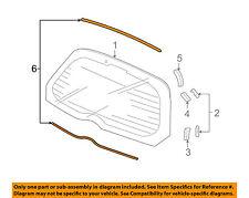 HONDA OEM 07-08 Fit Liftgate Tailgate Hatch-Dam 04733SAA000