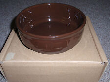 """Longaberger """"Woven Traditions - Stackable Bowl"""", Chocolate, 6""""Rd X 2 1/4""""H. New!"""