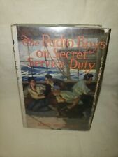 1922 THE RADIO BOYS ON SECRET SERVICE DUTY GERALD BRECKENRIDGE BURT BOOK w/ DJ