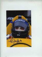 Jacques Laffite Williams FW09 F1 Season 1984 Signed Photograph 1