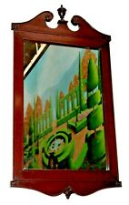 Vintage Mahogany Trutype Chippendale Ogee Mirror