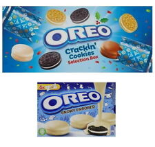 Oreo Crackin' Cookies or Snowy Enrobed White Chocolate Biscuits (1 Supplied)