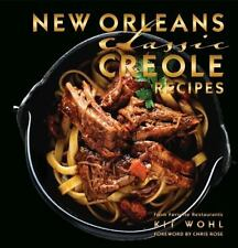 New Orleans Classic Creole Recipes (Hardback or Cased Book)