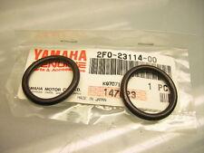 NEU/NEW 2x YAMAHA XS 650 SR 500 2F0-23114-00 O-RING GABEL SCHRAUBE FORK BOLT