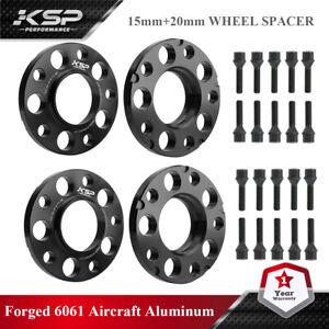 15mm&20mm BMW Wheel Spacers Black HubCentric F Series F30 F32 F33 F80 F10 M3 M4