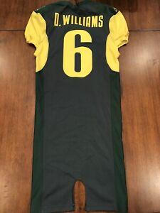 Demetrius Williams Team Issued Oregon Ducks Jersey Game Used Jersey