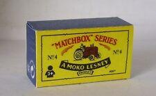 Repro Box Matchbox 1:75 Nr.04 Massey Harris Tractor China
