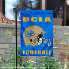 UCLA Bruins Football Helmet Garden Flag and Yard Banner