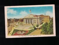 1946 View of Essex County Court House Newark New Jersey Postcard