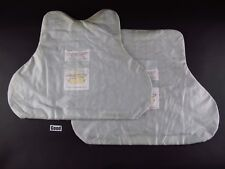 Large Body Armor Bullet Proof Resistant Vest Ballistic panels set Level 2 II GD