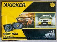 New listing Kicker Cs Series Csc46 4 x 6'' Car Audio System Speaker