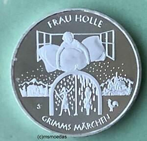 Deutschland BRD 20 Euro 2021 Grimms Märchen Frau Holle Silber Euromünze coin