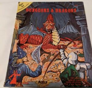 Vintage Dungeons & Dragons Basic Set with Introductory Module