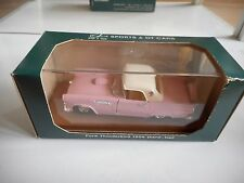 Rio 1956 Ford Thunderbird Hard Top in Pink on 1:43 in Box
