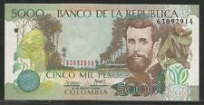 Colombia P-452 5000 Pesos 2009 Unc