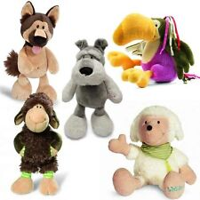 NICI SOFT PLUSH TOY NWT SCHNAUZER DOG, LENNY SHEEP, LILLEBI LAMB OR TOUCAN BIRD