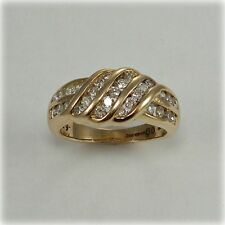 9 carat Gold 0.67 carat Diamond Dress Ring, Sheffield hallmark