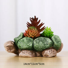 Stone Turtle Pot Silicone Mold Creative Animal Planter Making Tool Mould