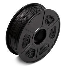 AW 3D Impresora PLA Filamento 1.75mm 1kg negro no Burbuja