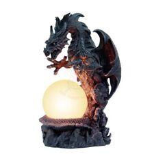 Drachenlampe Drachen Tischlampe Drache Gothic Stehlampe Dragon Lampe 766-3677