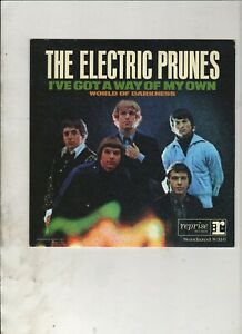 """ELECTRIC PRUNES I've Got a Way of My Own 7"""" w/PS RE 60s GARAGE PSYCH"""