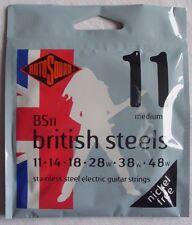 Rotosound BS11 British Steels, electric guitar strings, medium, nickel free