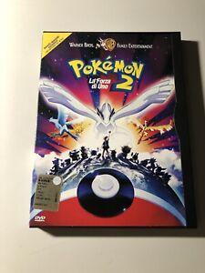 Pokémon Film 2 La forza di Uno DVD Snapper Introvabile Come Nuovo