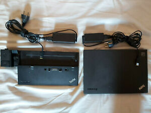 """Lenovo Thinkpad X240, 12.5"""", I3-4030U 1,9Ghz, 4Go ram, SSD 240Go, Station accuei"""