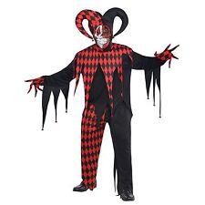 Amscan International Adults Krazed Jester Costume Plus Size