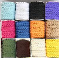 5 Yards 3/8'' Wide Ric Rac Rick Rack Trim Lace 19 Colors