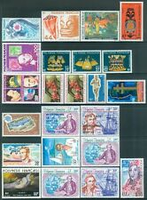 FRENCH POLYNESIA : Very nice group of all VF MNH singles & sets. Yvert Cat €305.