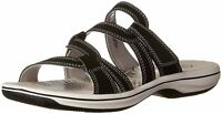 Clarks Womens Brinkley Lonna Slide Sandal- Pick SZ/Color.