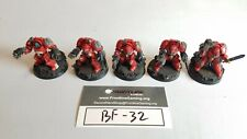 Warhammer 40k Space Marine Terminator Squad 5 Models Fully Painted (BF-32A)
