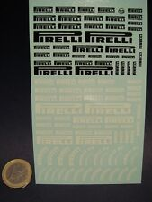 "DECALS 1/24  "" PIRELLI "" - VIRAGES  T113"