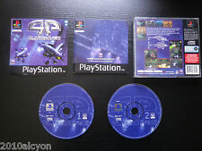 JEU Sony PLAYSTATION PS1 / PS2 : G-POLICE (Psygnosis SLES-00853 COMPLET suivi)