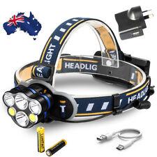 Extreme Bright 60000lm CREE Xm-l LED Headlamp 8-mode Work HEAD Lights Flashlight