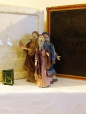 "Duncan Royale 11"" Limited Edition Magi 3 Wiseman Figurine w/Original Box"