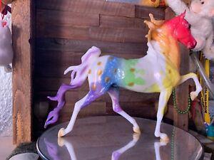 Breyer Model Horse Hamilton Glossy Dapple Rainbow Paint Appy  CM =).