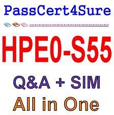 Designing HPE Server Solutions HPE0-S55 Q&A PDF+SIM