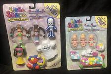 LITTLE SNAPS Silverlit Toys Rare SNAP ON DOLLS Clothes Scenes VINTAGE