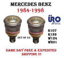 84-98 Mercedes R107 W124 R129 W201 Front Lower Control Arm Ball Joint Set of 2